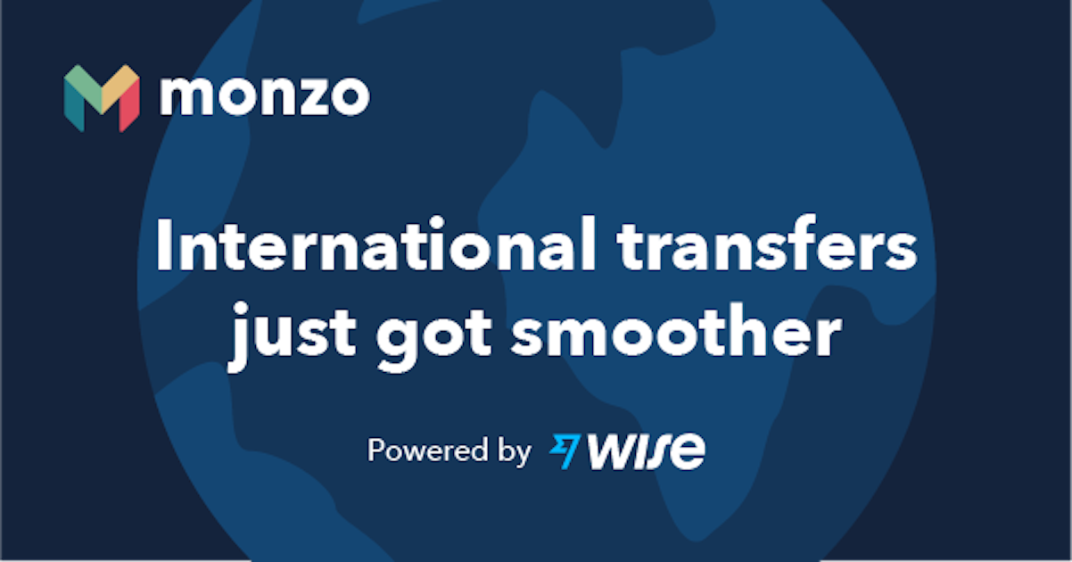 International transfers just got smoother. Powered by Wise.