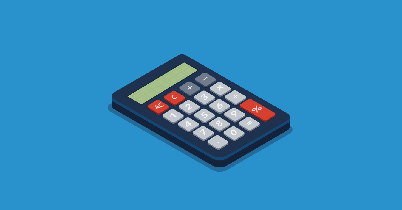 How to save money as a student - calculator image