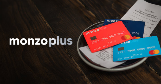 OG image for Monzo Plus showing 3 card colours.