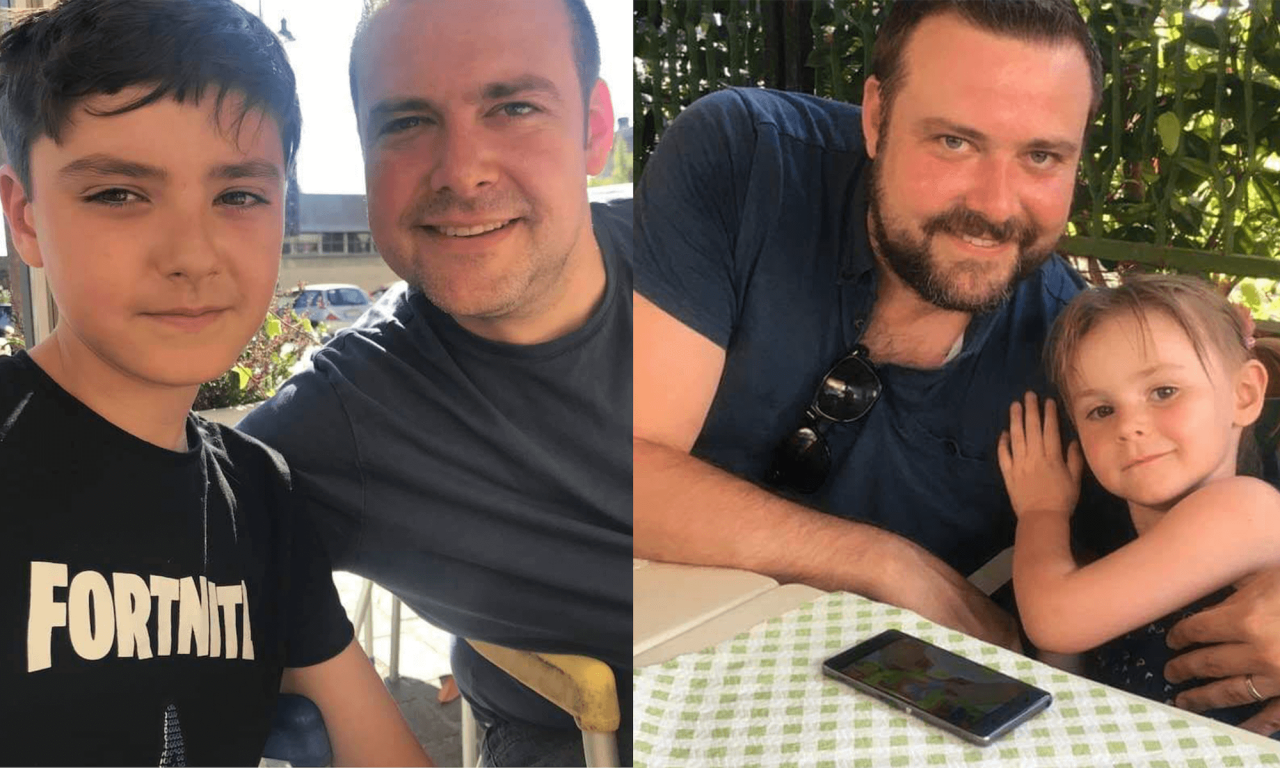Both of Chris' children have autism, and his son also has tourettes and epilepsy