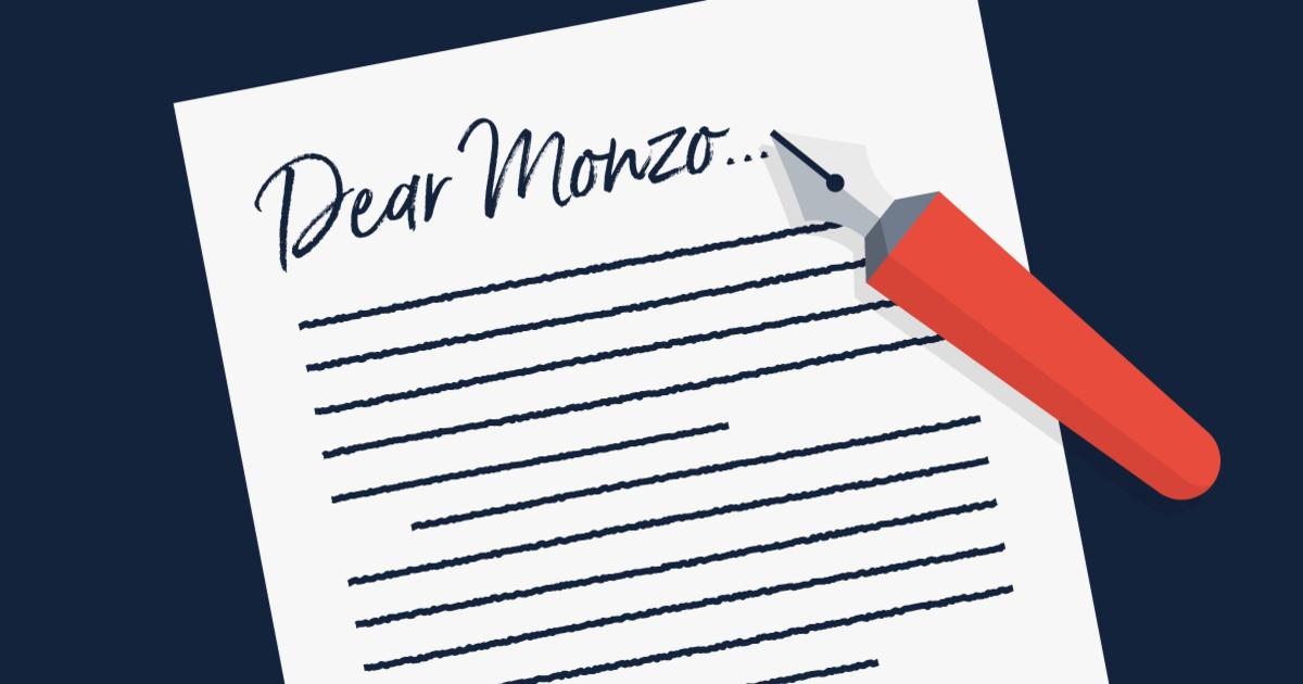 Dear Monzo OG