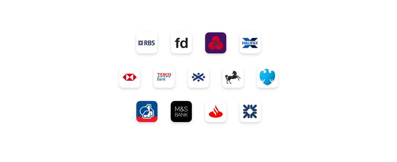 You can make an easy bank transfer from the most popular high street banks