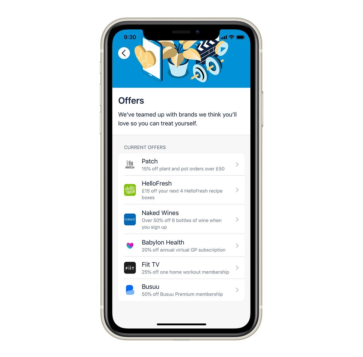 Plus Offers iOS 1