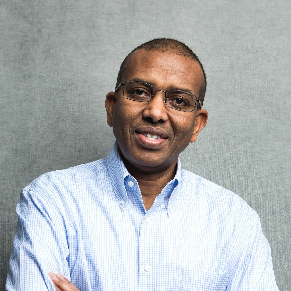 Portrait photo of Ismail Ahmed