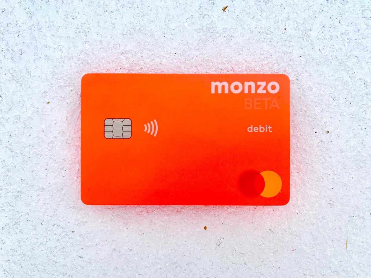 New Personalized Monzo USA Card