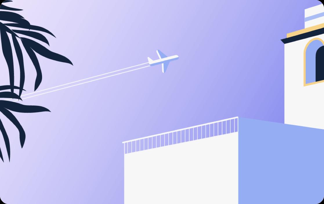 Paid Monzo - Travel illustration crop
