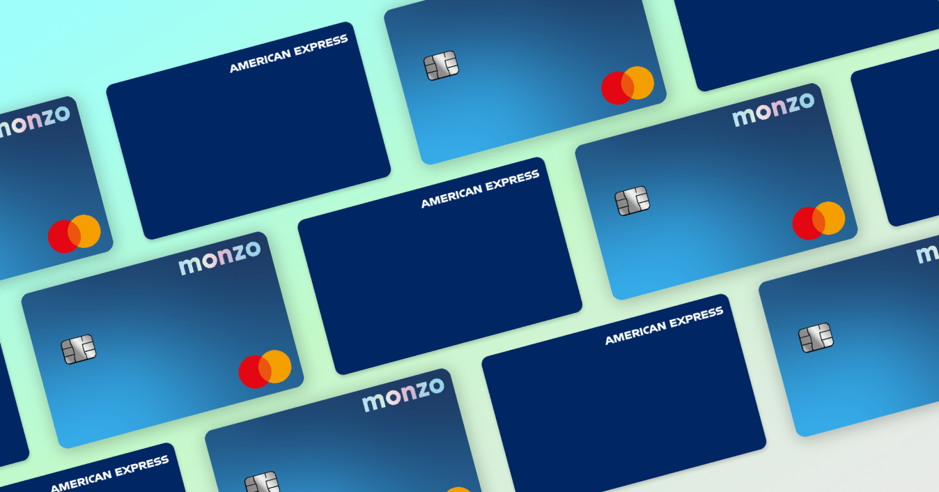OG image of Monzo Plus card and Amex.