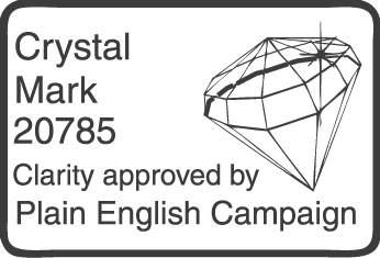 Plain English Crystal Mark