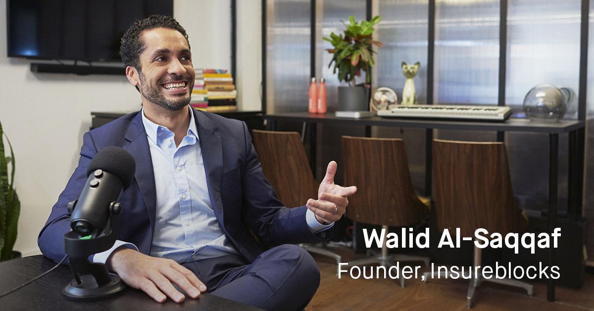 Walid, Founder of Insureblocks