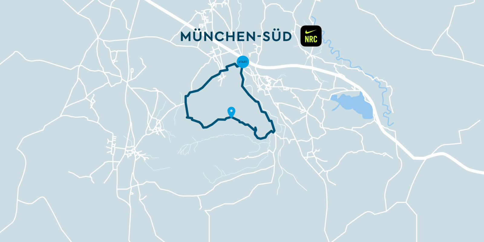 Image Nike Run Club & SHARE NOW Munich Map