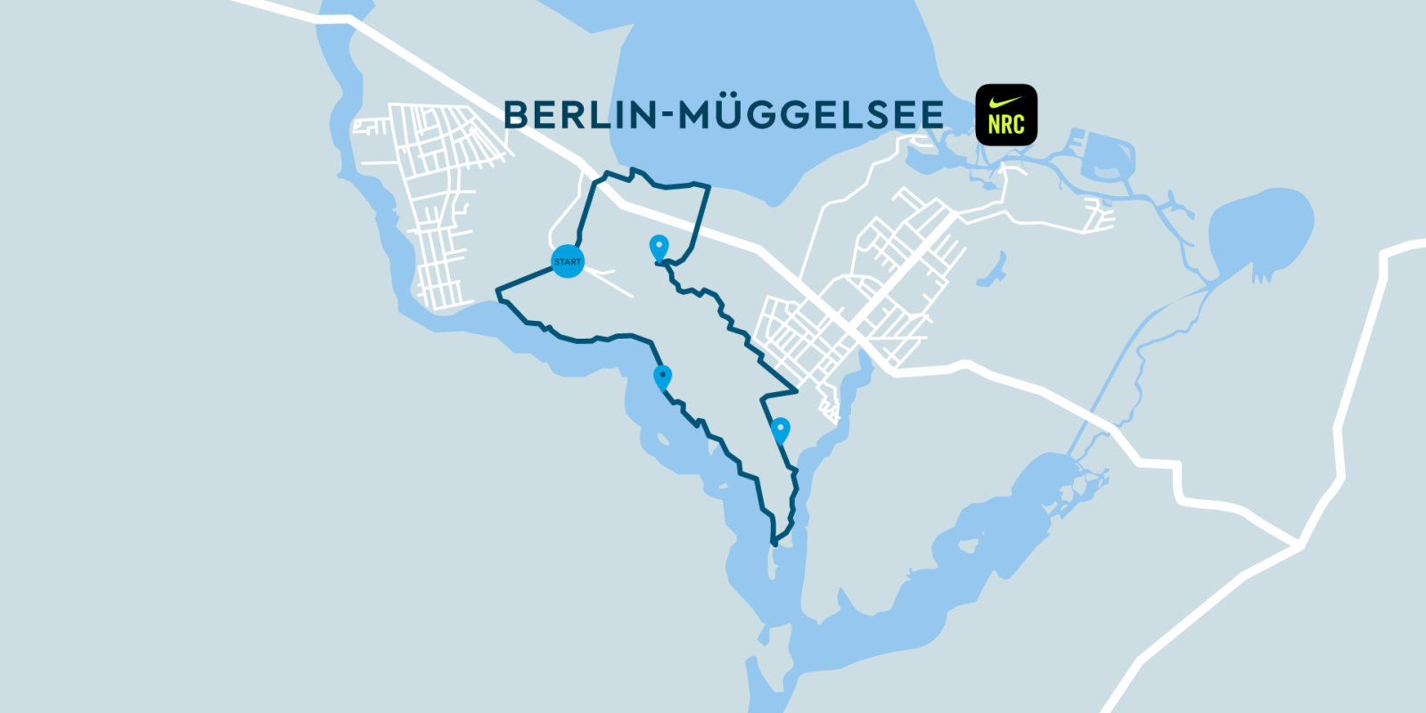 Image Nike Run Club & SHARE NOW Berlin Map