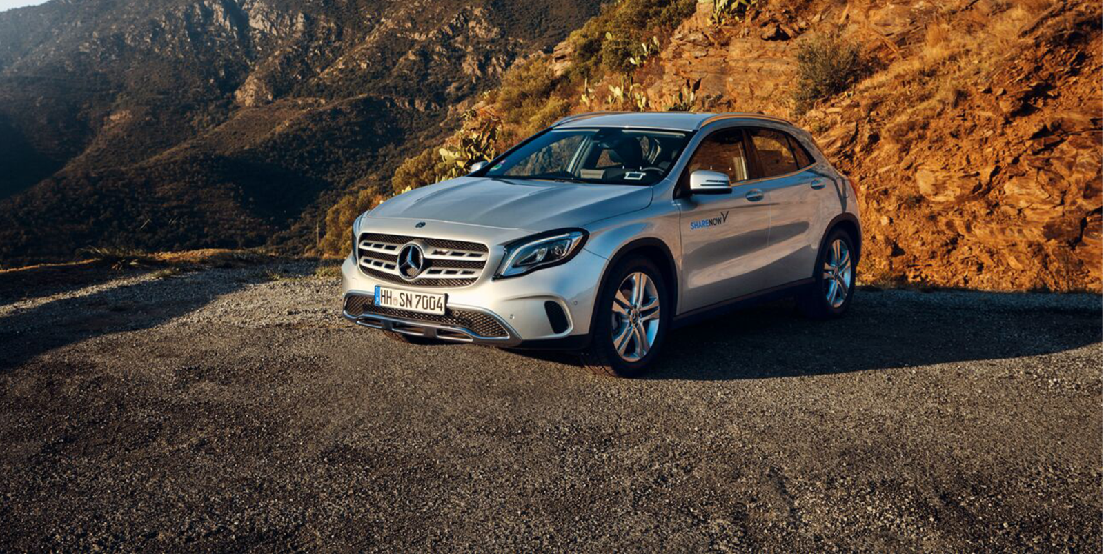 Mercedes-Benz GLA Car standing