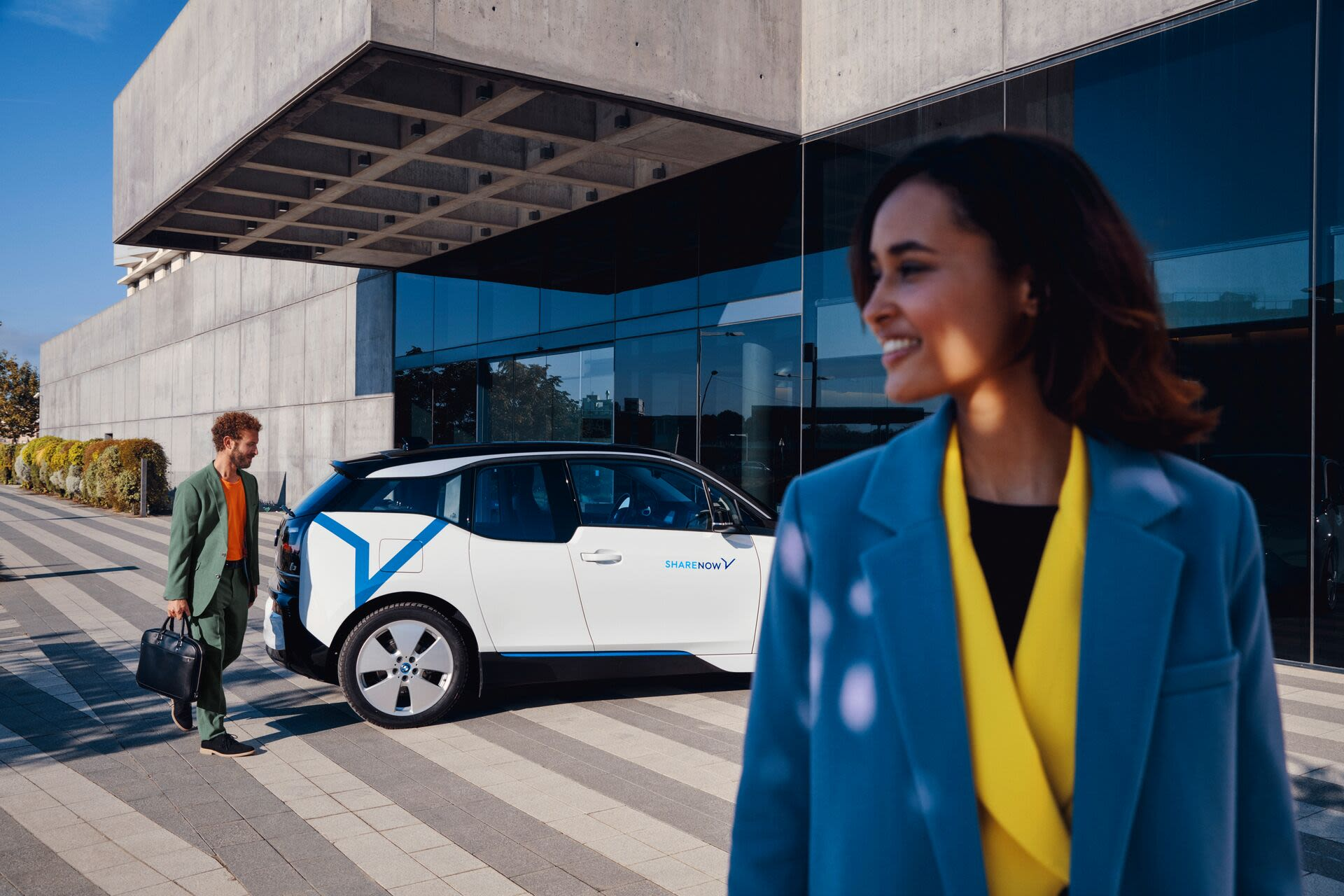 Image BMW i3 corporate SHARE NOW business