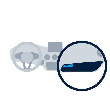 SN Illustration key glovebox