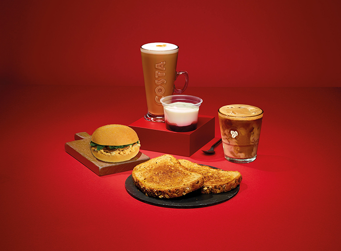 Costa Coffe food range