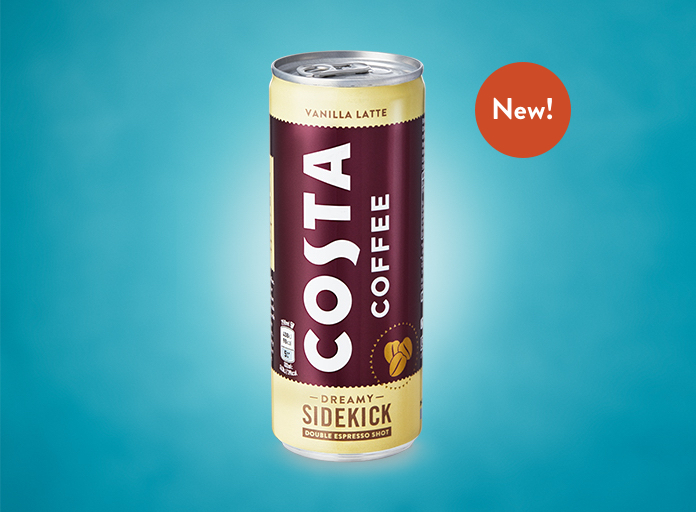 Costa Coffee Ready-to-Drink Vanilla Latte