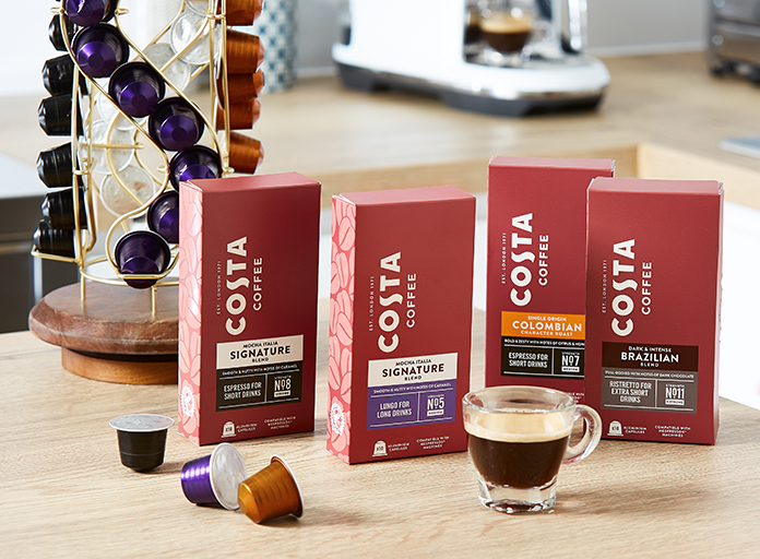 Costa Coffee Nespresso Compatible Pods