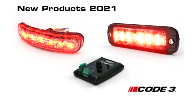 Bringing Innovation and Safety – new Code 3 products released in 2021