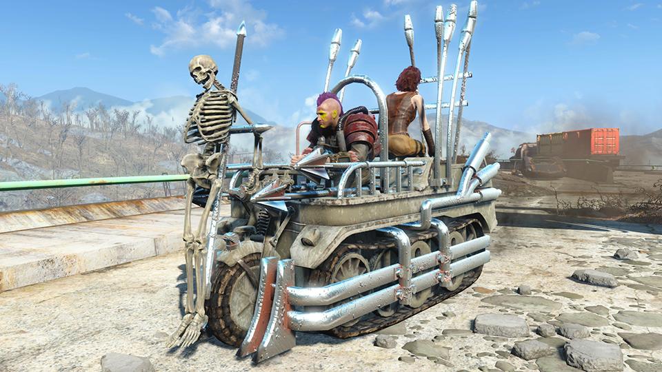 fallout 4 xp mod
