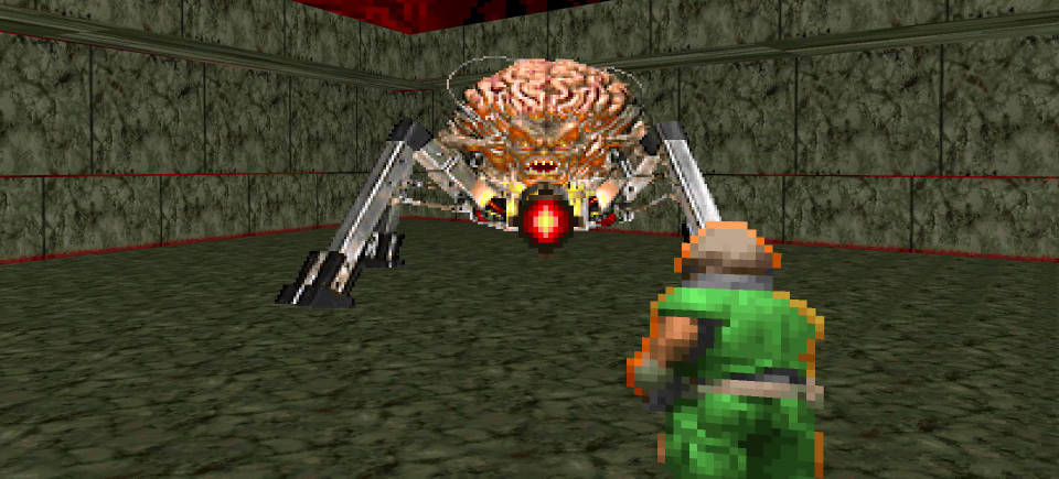 Play classic DOOM games and receive old-school skins for DOOM Eternal