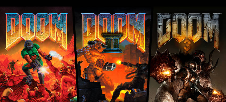 Experience the games that started it all: DOOM Classics Go New-Gen