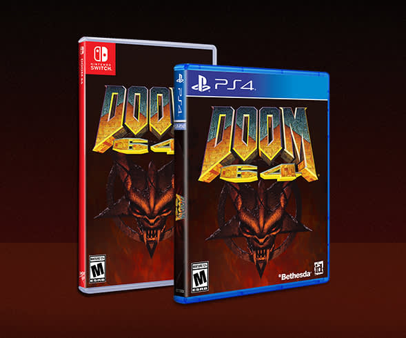 Pre-order your physical edition of DOOM 64 with Limited Run Games today!