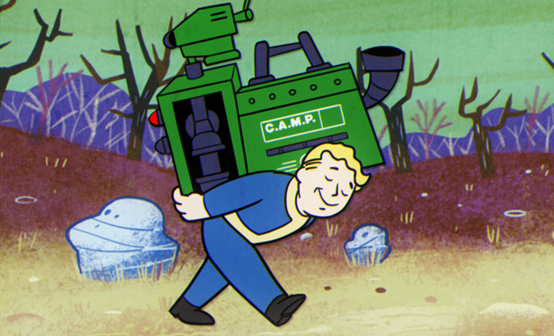 fallout 76 vault tec presents laying the cornerstones crafting and building video