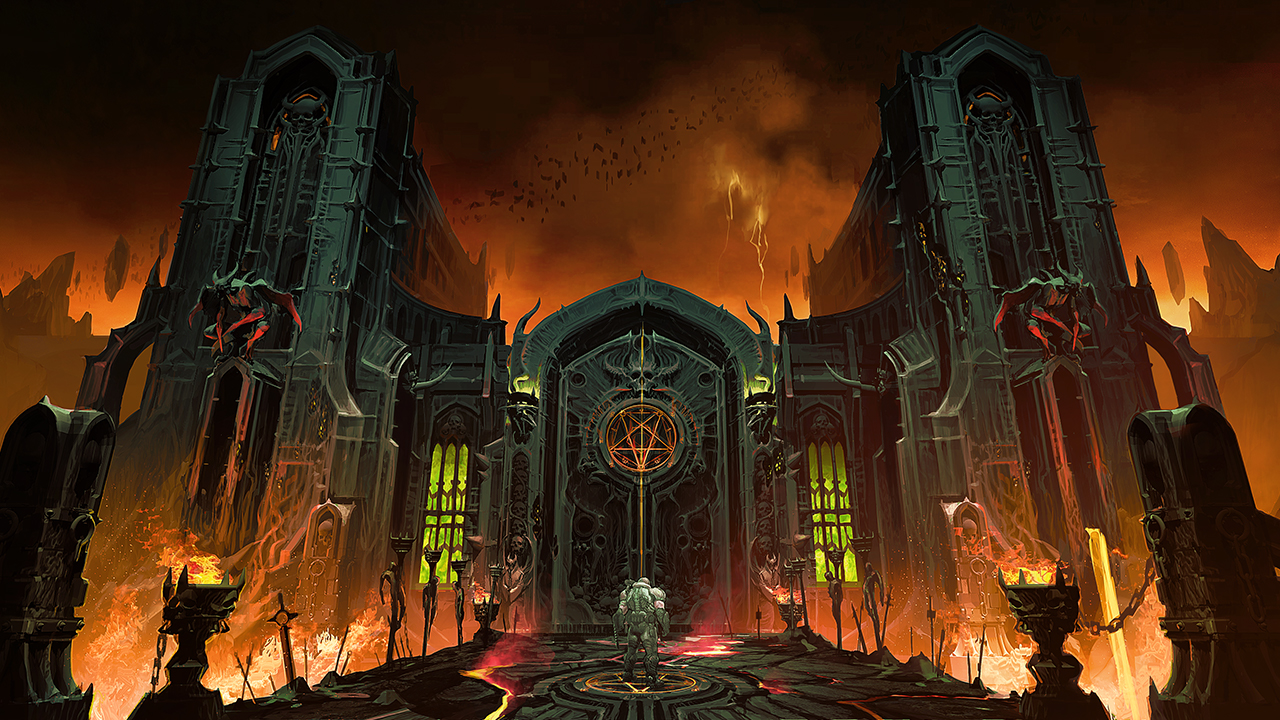 Media Trailers Screenshots Concept Art Slayers Club Doom Eternal Bethesda Net
