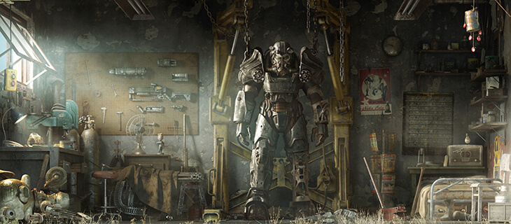 fallout 4 lego dogmeat and power armor bethesda net