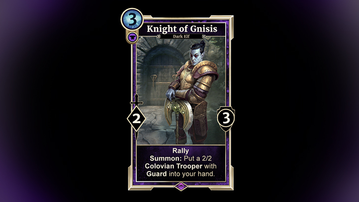 TESL Knight of Gnisis