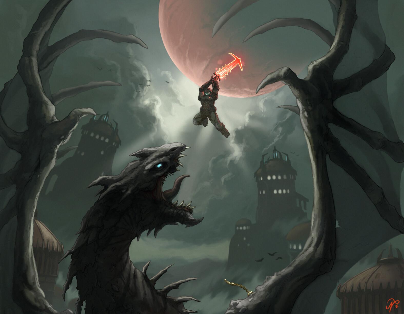 Year Of Doom Fan Art Shout Outs Vol Iii Bethesda Net