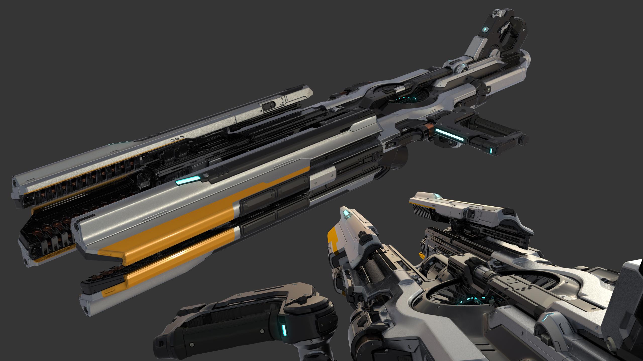 The Art of DOOM – Weapons
