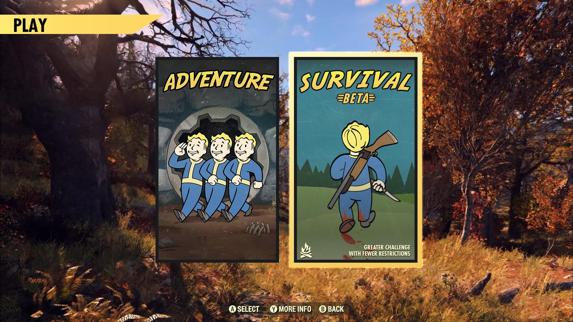 MainMenu GameModeSelect Survival 003