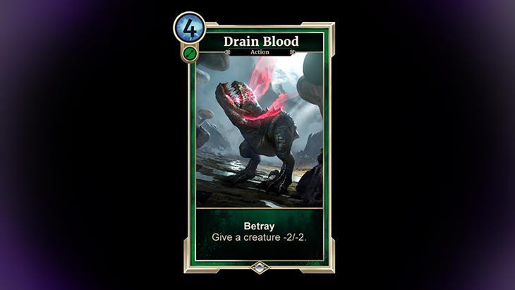 TESL Drain Blood