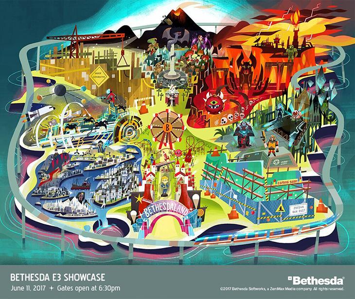 Bethesda E3 2017 Showcase