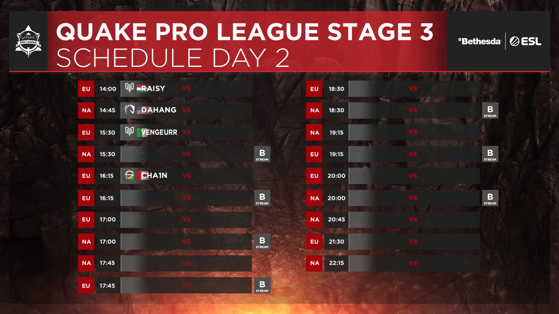 QPL - Stage 3 Finals - Day 2