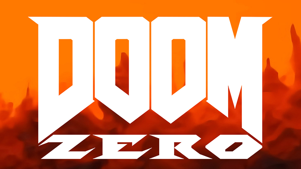 DE DOOM Zero in-body title