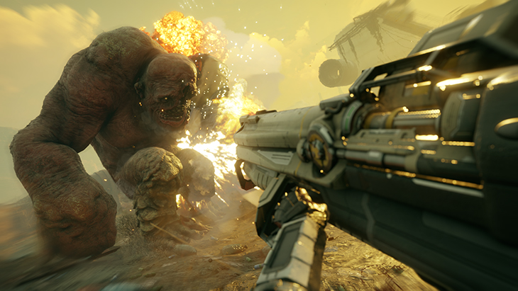 RAGE2 Announce Crusher