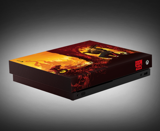 Custom DOOM Xbox One X - June