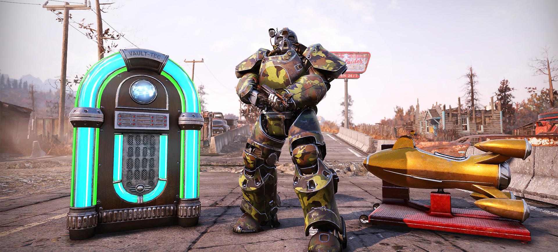 シークレット サービス Fallout76