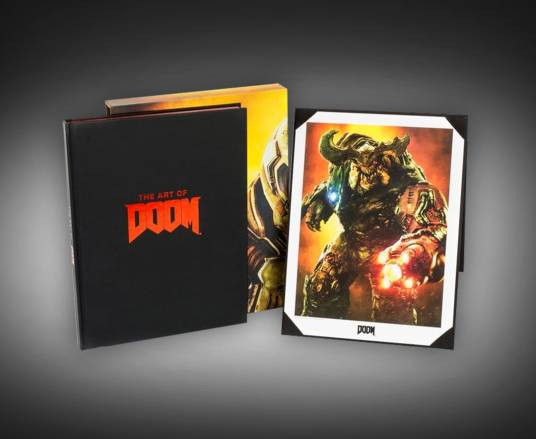 The Art of DOOM Book
