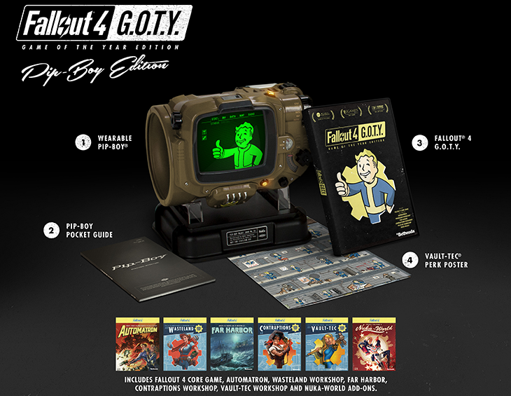 Fallout 4 Game Of The Year Edition Release Is September 26