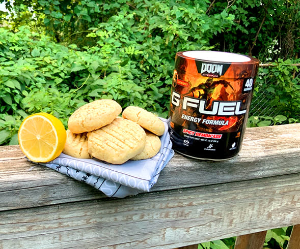 SLAYERS CLUB X G FUEL: Confection of Sin Lemon Cookies