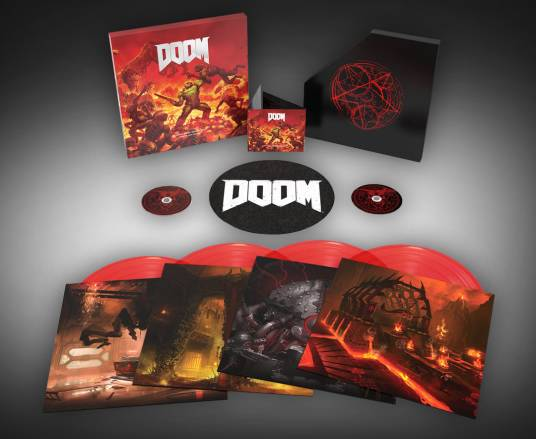 Limited Edition DOOM OST Vinyl Box Set