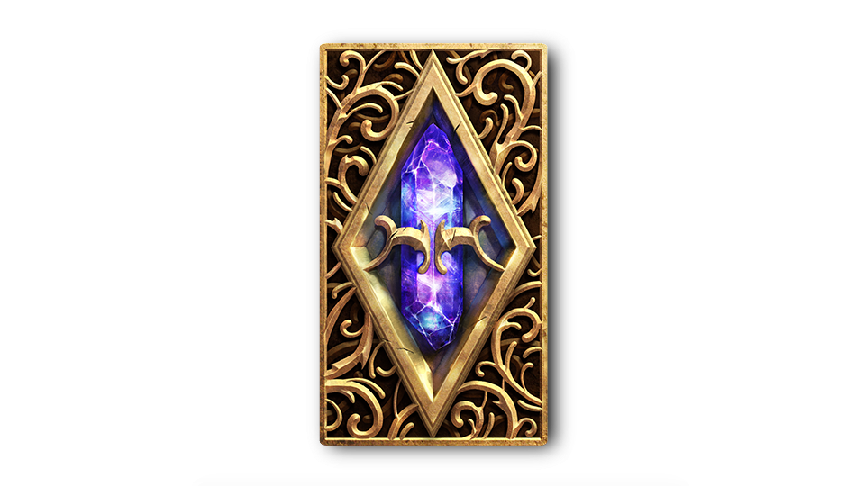 TESL Soul Gem Card Back