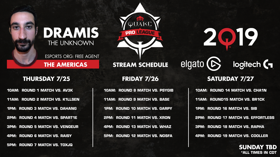 Dramis-QuakeCon-Schedule 960x540