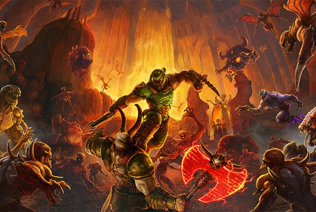 Game of the Year contender DOOM Eternal will arrive on Nintendo Switch next month.