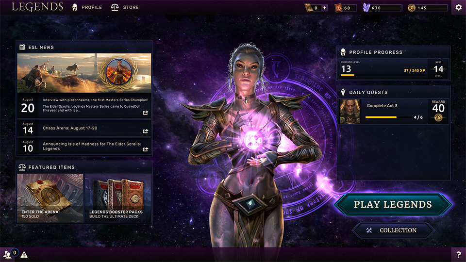 TESL PC Mainmenu in-body