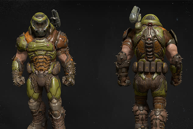 Doom Slayer Cosplay Guide Bethesda Net