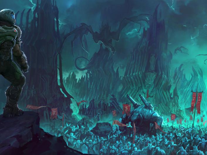 Media Trailers Screenshots Concept Art Slayers Club Doom